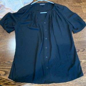 Express black blouse size XSmall